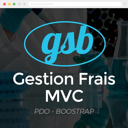 GSB – Gestion frais MVC